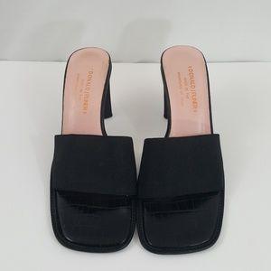 Donald Pliner Womens Heeled Sandals Open Toe 8M